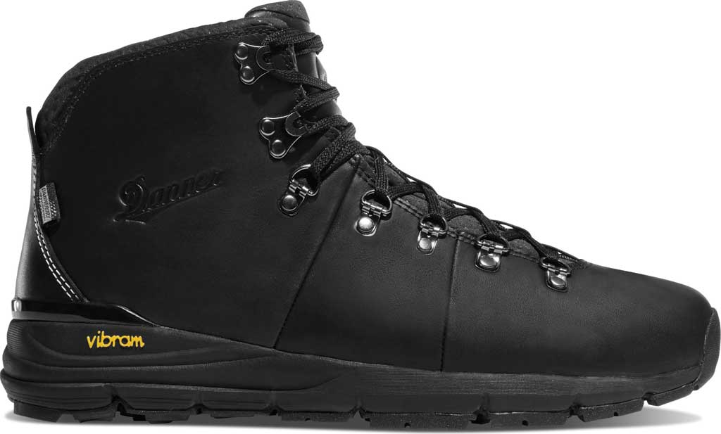 "Men's Danner Mountain 600 4.5"" Hiking Boot, Carbon Black Full Grain Leather, large, image 2"
