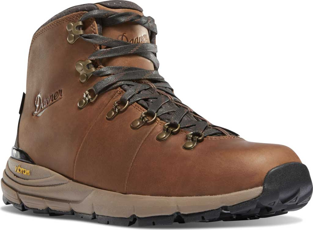 "Men's Danner Mountain 600 4.5"" Hiking Boot, Rich Brown Full Grain Leather, large, image 1"