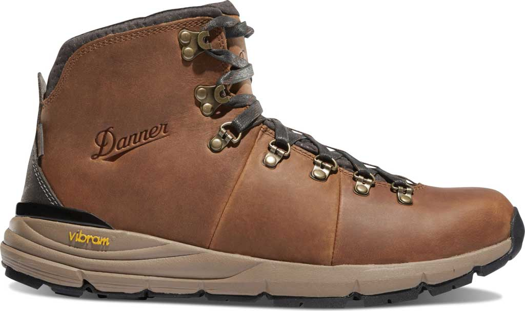"Men's Danner Mountain 600 4.5"" Hiking Boot, Rich Brown Full Grain Leather, large, image 2"