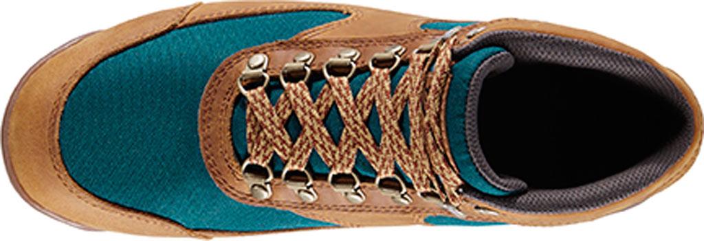 "Women's Danner Jag 4.5"" Hiking Boot, Distressed Brown Full Grain Leather/Deep Teal, large, image 3"