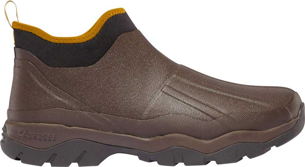 """Men's LaCrosse 4.5"""" Alpha Muddy Waterproof Boot, Brown, large, image 1"""
