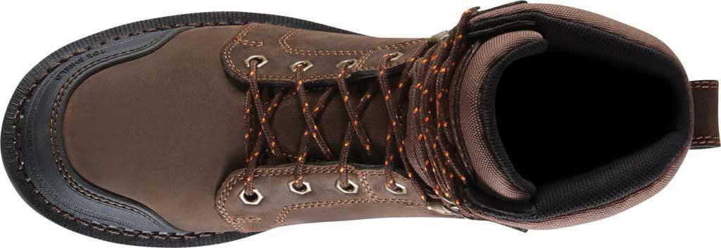 "Men's Danner Trakwelt 8"" Non Metallic Toe Work Boot, Brown Full Grain Leather, large, image 4"