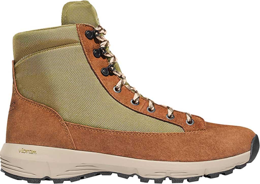 """Men's Danner Explorer 650 6"""" Hiking Boot, Brown/Olive Suede/Nylon, large, image 2"""