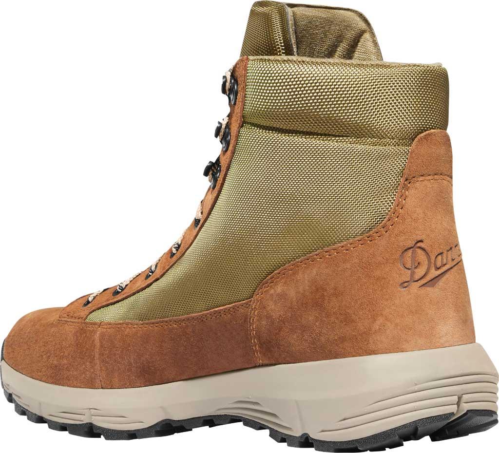 """Men's Danner Explorer 650 6"""" Hiking Boot, Brown/Olive Suede/Nylon, large, image 3"""