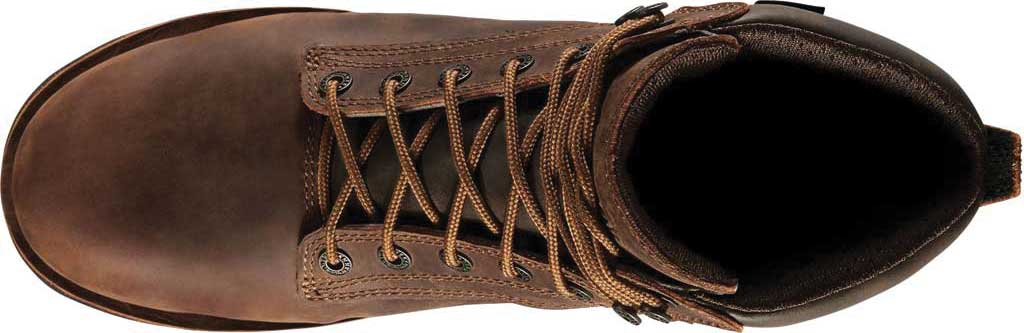 """Men's Danner Workman 6"""" Alloy Toe Work Boot, Brown Oiled Leather/Full Grain Leather, large, image 3"""
