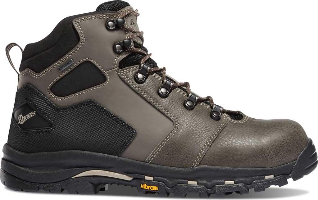 "Men's Danner Vicious 4.5"" GORE-TEX Non Metallic Toe Work Boot, Slate/Black Leather, large, image 2"