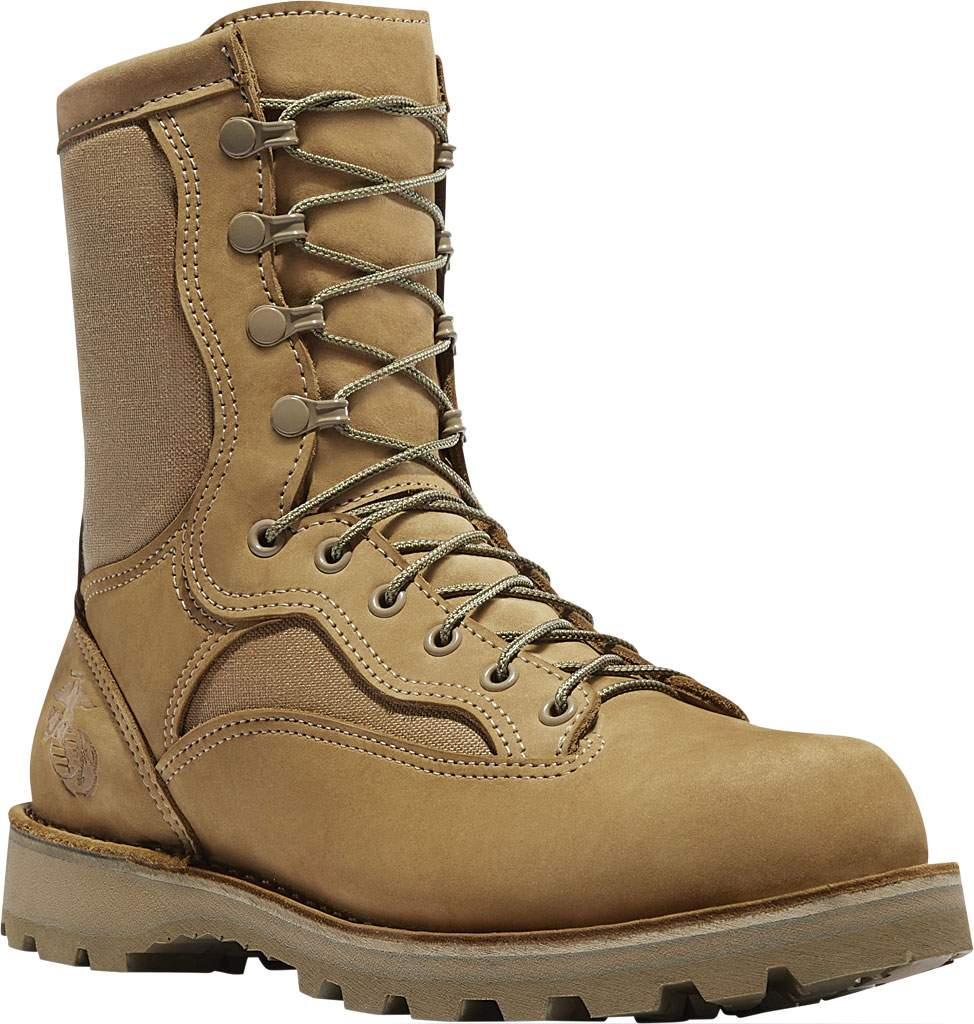 "Men's Danner 8"" Marine Expeditionary Boot, Hot Mojave Nubuck/Nylon, large, image 1"