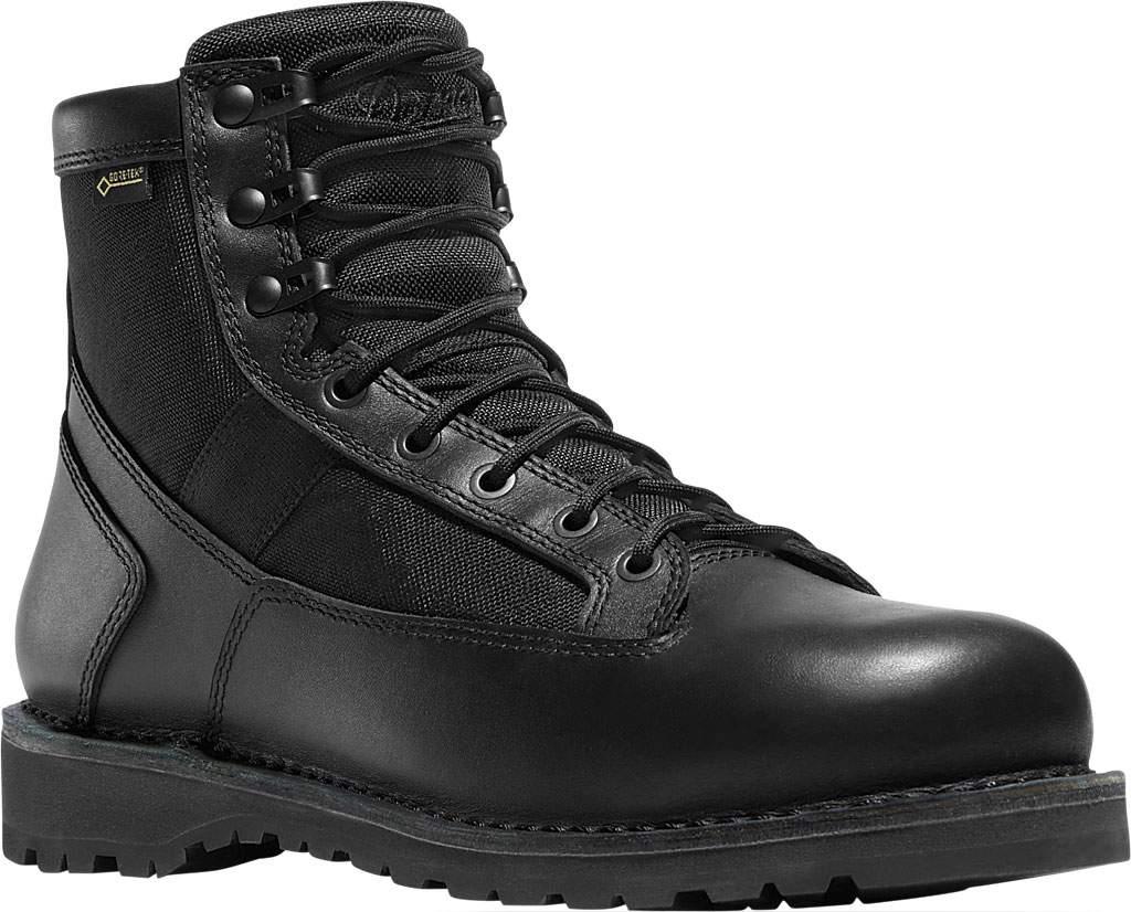 "Men's Danner Stalwart 6"" GORE-TEX Work Boot, Black Leather/Cordura, large, image 1"