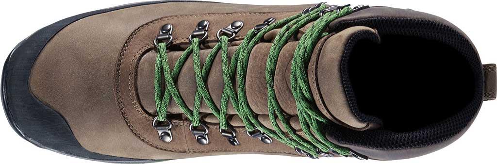 """Men's Danner Crag Rat USA 6"""" WP GORE-TEX Hiking Boot, Brown/Green Nubuck, large, image 4"""