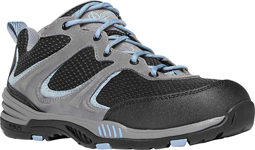 "Women's Danner Springfield 3"" Non-Metallic Toe Work Boot, Gray/Blue Nubuck/Mesh, large, image 1"