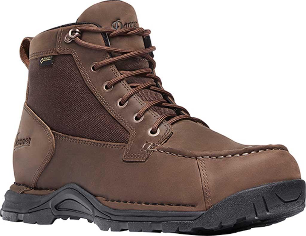 """Men's Danner Sharptail 4.5"""" GORE-TEX Boot, Brown Full Grain Leather/Nylon, large, image 1"""
