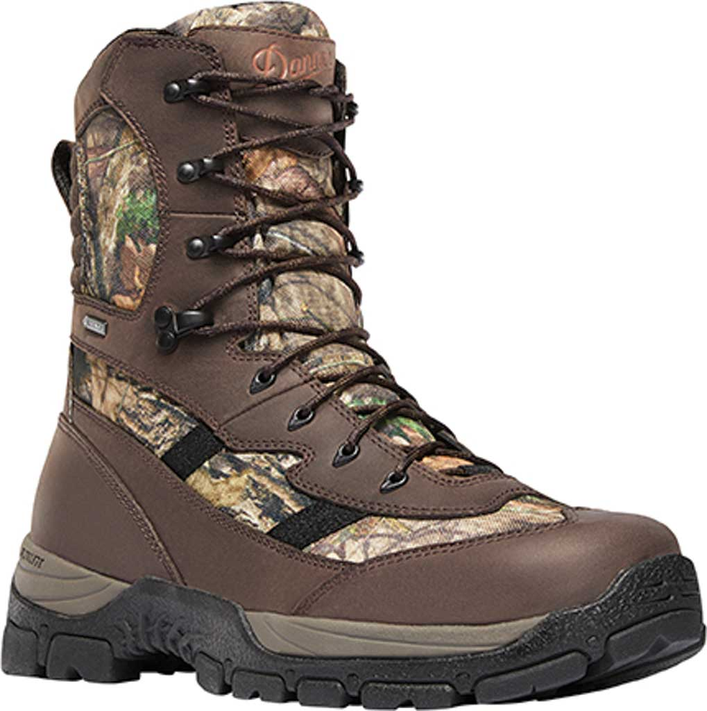 """Men's Danner Alsea 8"""" GORE-TEX 1000G Insulated Hunting Boot, Mossy Oak Break-Up Country Leather/Polyester, large, image 1"""