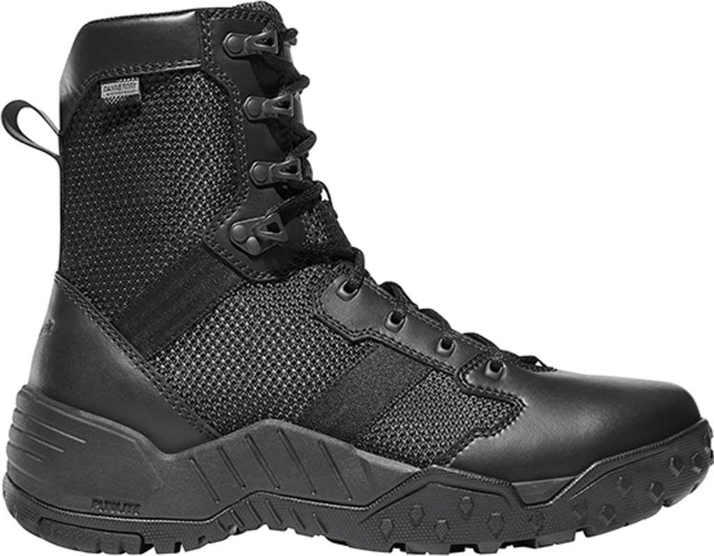 "Men's Danner Scorch Side Zip 8"" Tactical Boot, Black Leather/Textile, large, image 1"