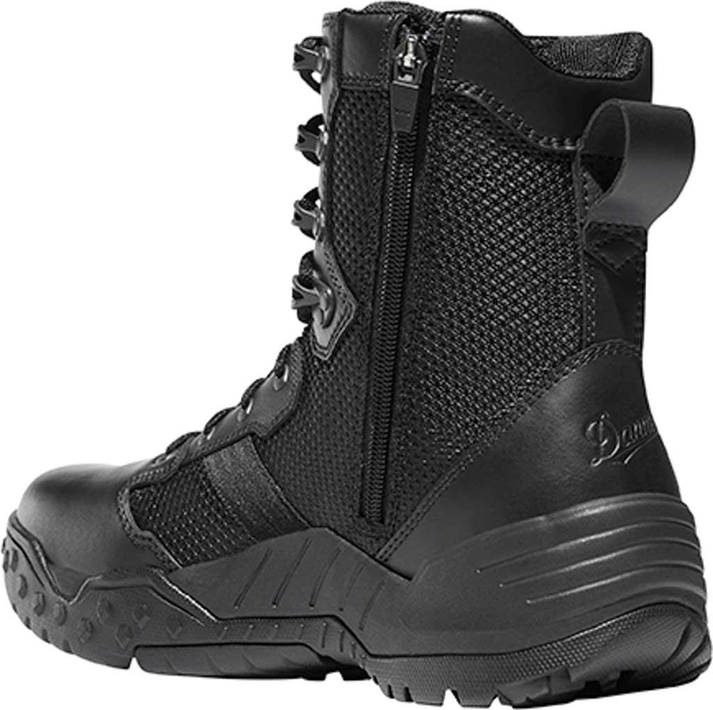 "Men's Danner Scorch Side Zip 8"" Tactical Boot, Black Leather/Textile, large, image 2"