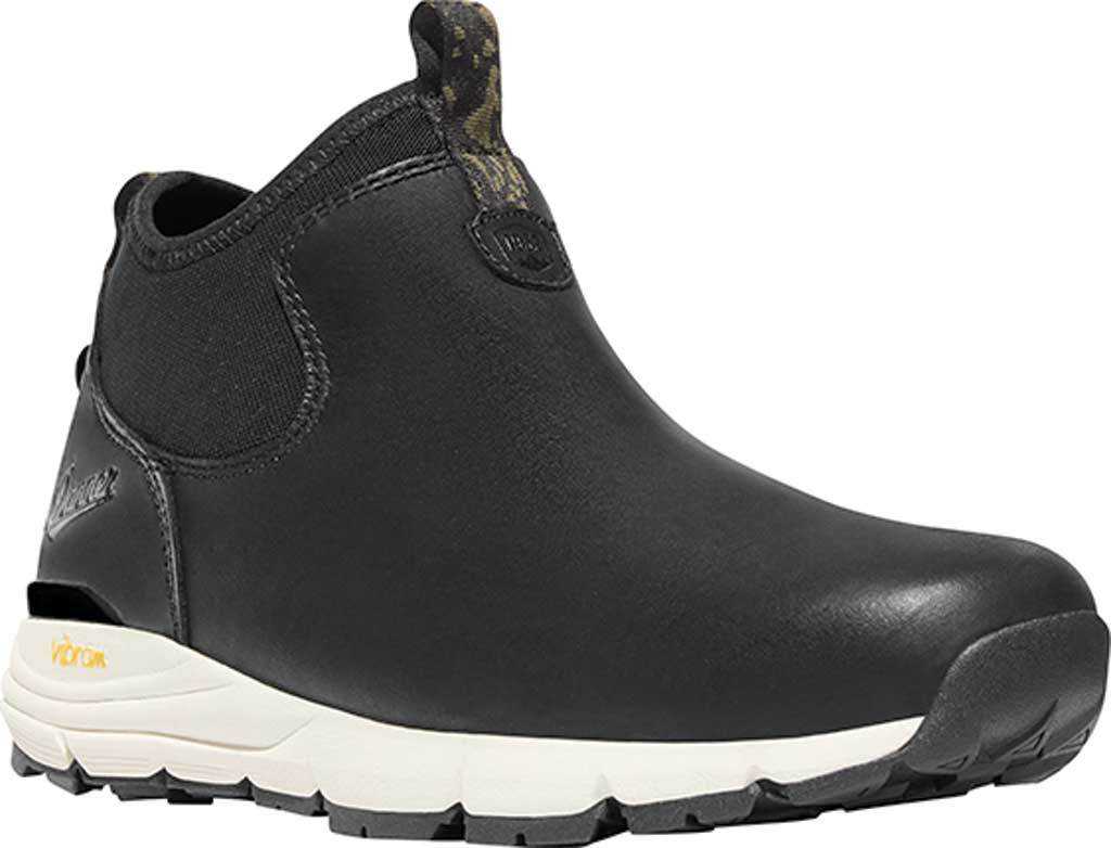 Men's Danner Mountain 600 Chelsea Boot, Black Full Grain Leather, large, image 1