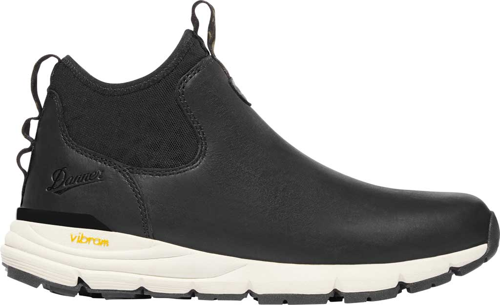 Men's Danner Mountain 600 Chelsea Boot, Black Full Grain Leather, large, image 2