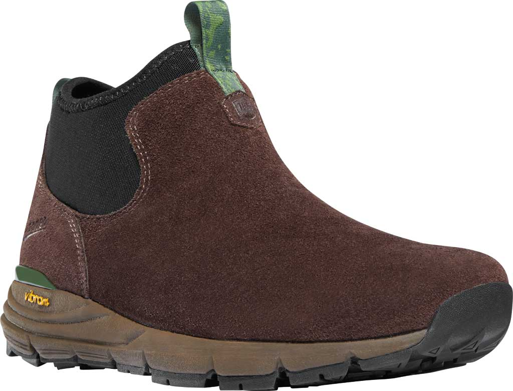 Men's Danner Mountain 600 Chelsea Boot, Java/Forest Green Suede, large, image 1