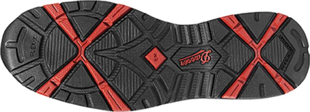 "Men's Danner Springfield 3"" Non-Metallic Toe Work Boot, Gray/Red Nubuck/Mesh, large, image 2"