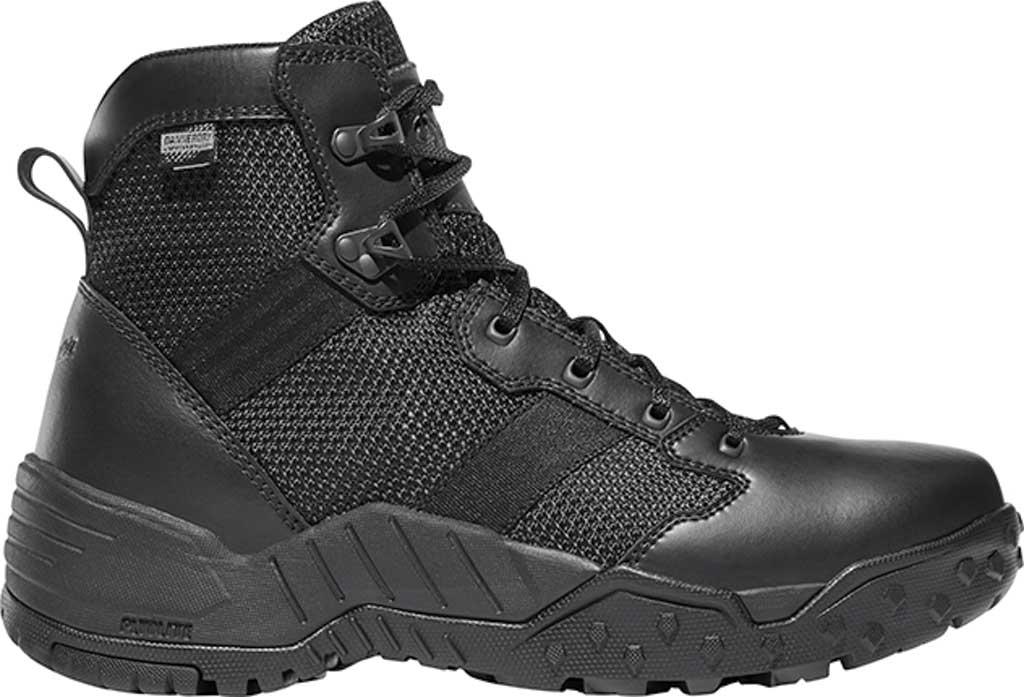 "Men's Danner Scorch Side Zip 6"" Tactical Boot, Black Leather/Textile, large, image 1"