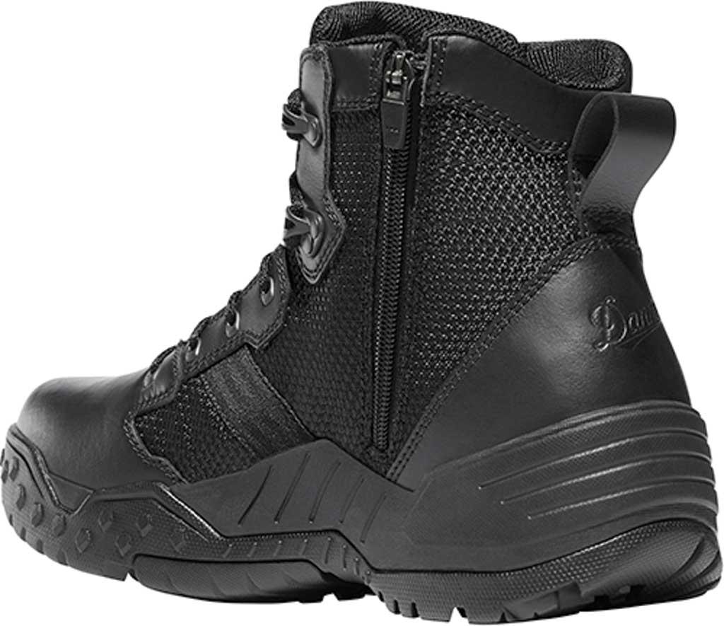 "Men's Danner Scorch Side Zip 6"" Tactical Boot, Black Leather/Textile, large, image 2"
