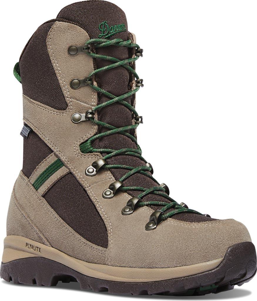 "Women's Danner Wayfinder 8"" Hiking Boot, Brown Suede/Nylon, large, image 1"