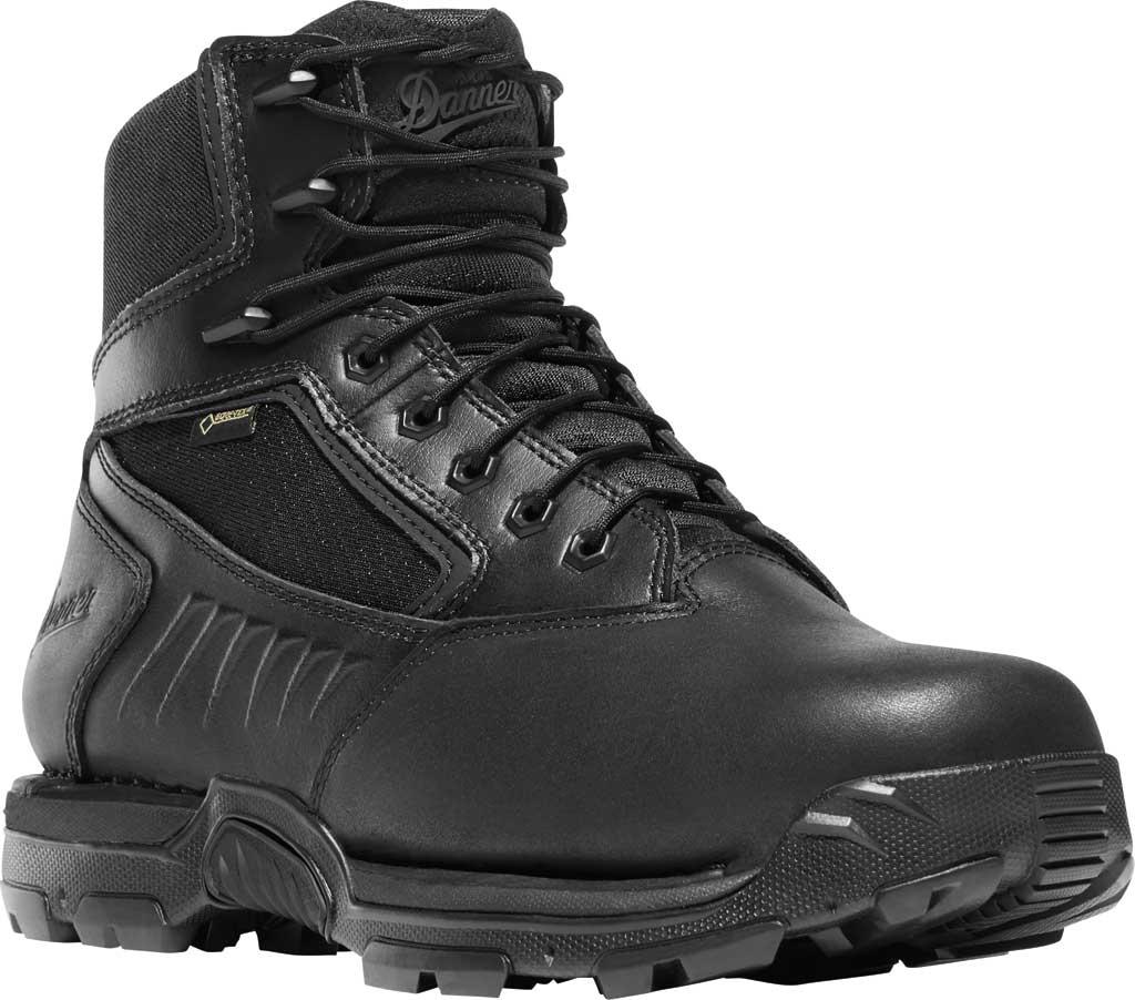 "Men's Danner StrikerBolt 6"" GTX Tactical Boot, Black Leather/Nylon, large, image 1"