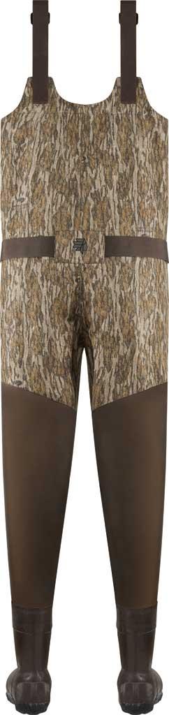 Men's LaCrosse Wetlands 1600G Insulated Wader, Mossy Oak Bottomland Rubber/Neoprene, large, image 2