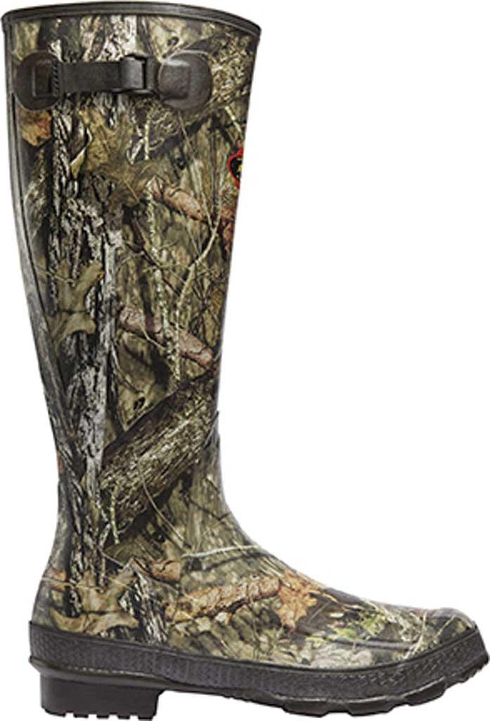 "Men's LaCrosse Grange 18"" Hunting Boot, Mossy Oak Break-Up Country Rubber, large, image 1"