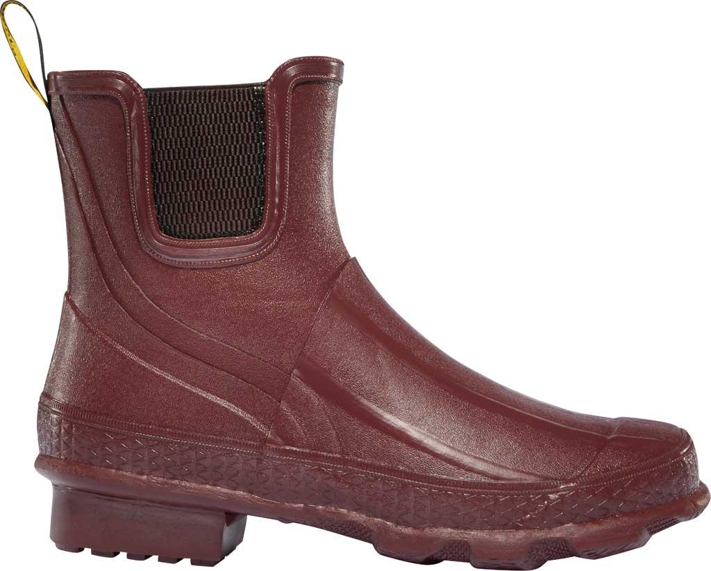 "Women's LaCrosse Grange 5"" Chelsea Boot, Brick Red Rubber, large, image 1"