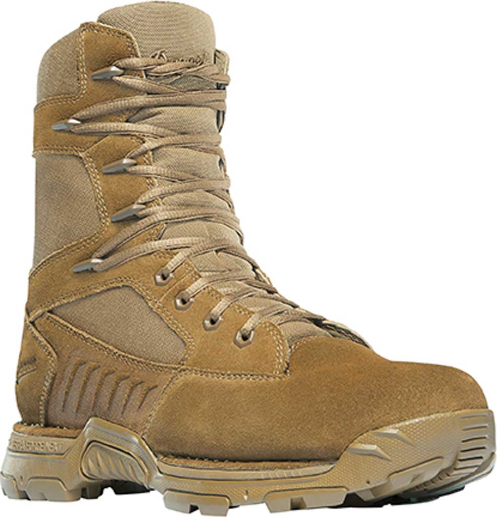 """Men's Danner Incursion 8"""" Military Boot, Coyote Suede/Nylon, large, image 1"""
