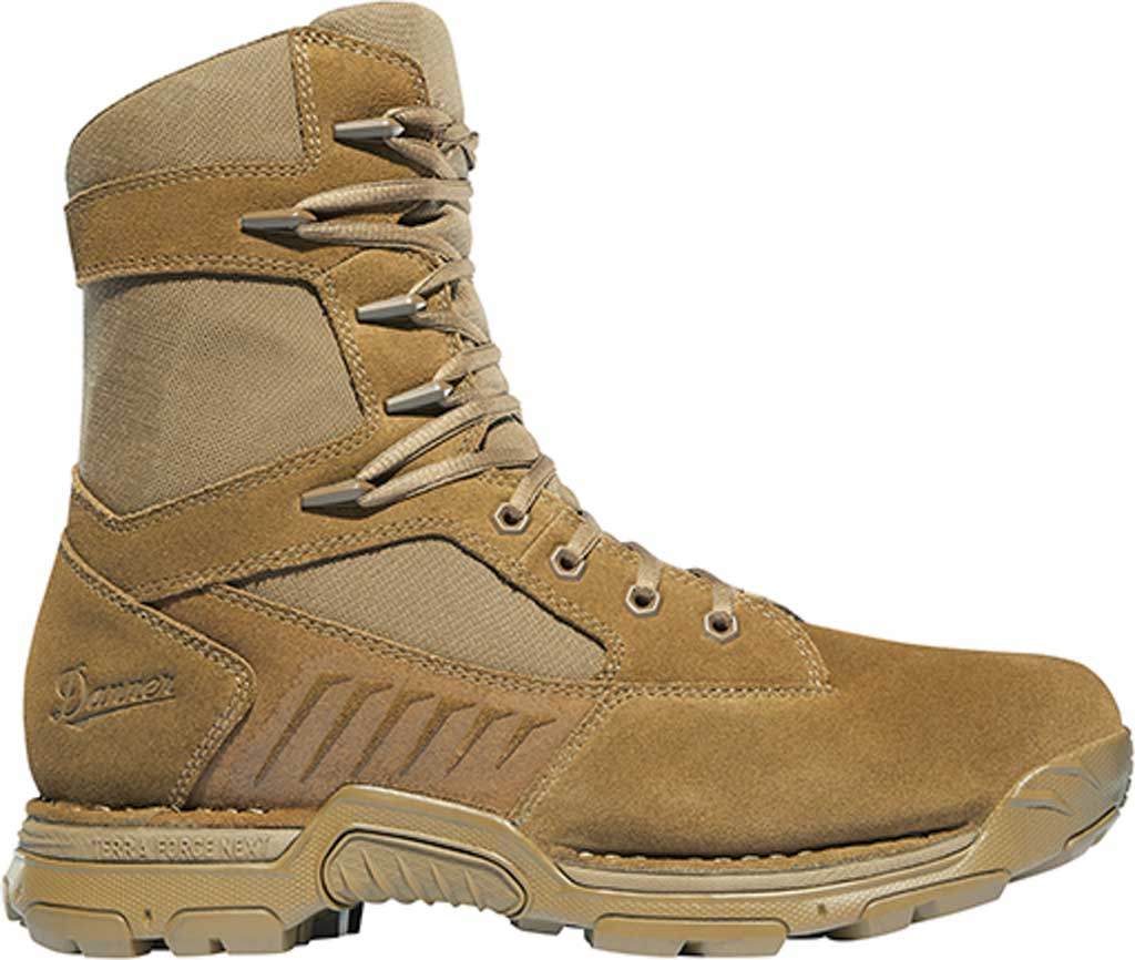 """Men's Danner Incursion 8"""" Military Boot, Coyote Suede/Nylon, large, image 2"""