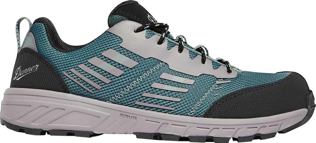 "Women's Danner Run Time 3"" Non-Metallic Toe Work Boot, Teal Textile, large, image 2"