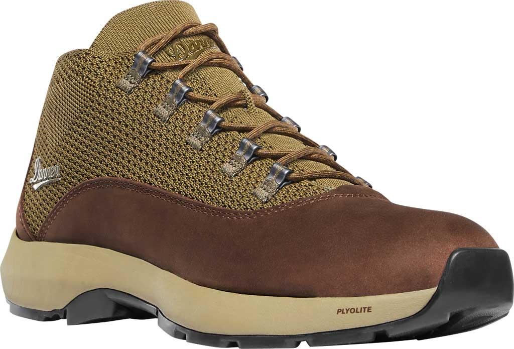 Men's Danner Caprine Hiking Boot, Olive/Pinecone Nubuck/Textile, large, image 1