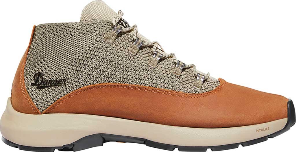 Men's Danner Caprine Hiking Boot, Taupe/Glazed Ginger Nubuck/Textile, large, image 2