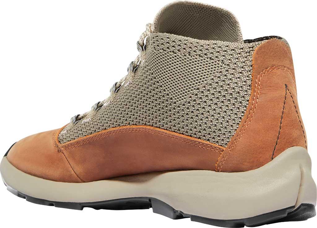 Men's Danner Caprine Hiking Boot, Taupe/Glazed Ginger Nubuck/Textile, large, image 3