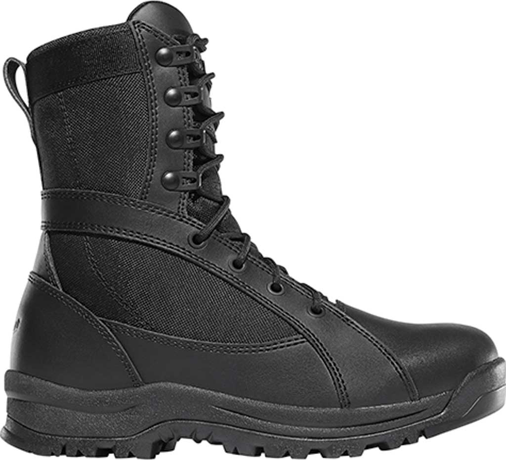 """Women's Danner Prowess Side-Zip 8"""" Military Boot, Black Leather/Nylon, large, image 2"""