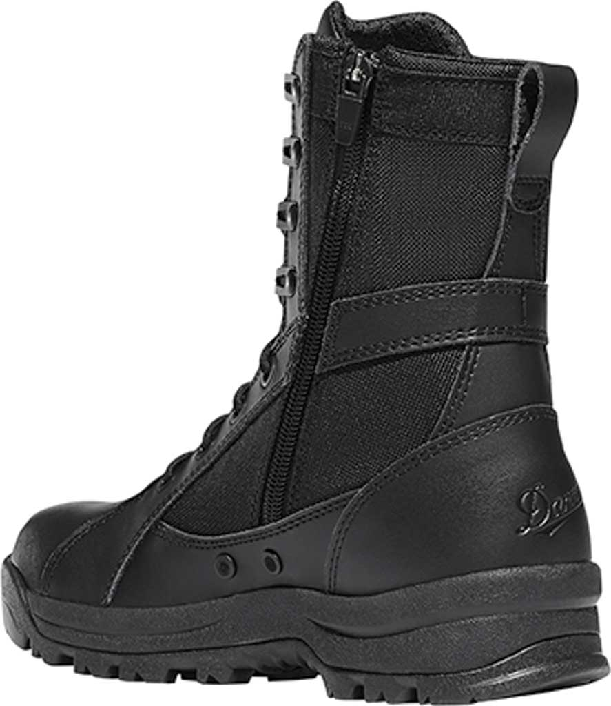 """Women's Danner Prowess Side-Zip 8"""" Military Boot, Black Leather/Nylon, large, image 3"""