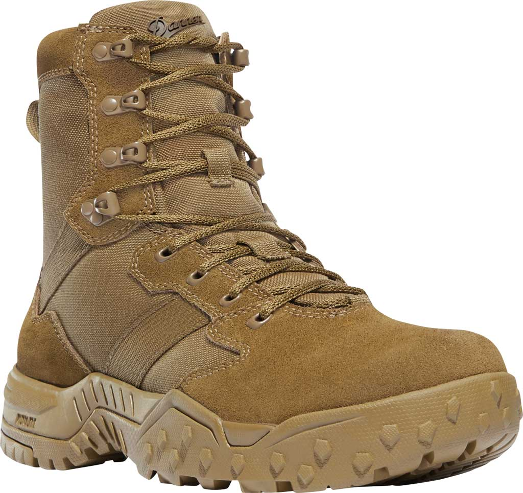 """Men's Danner Scorch 8"""" Military Boot, Coyote Leather/Textile, large, image 1"""