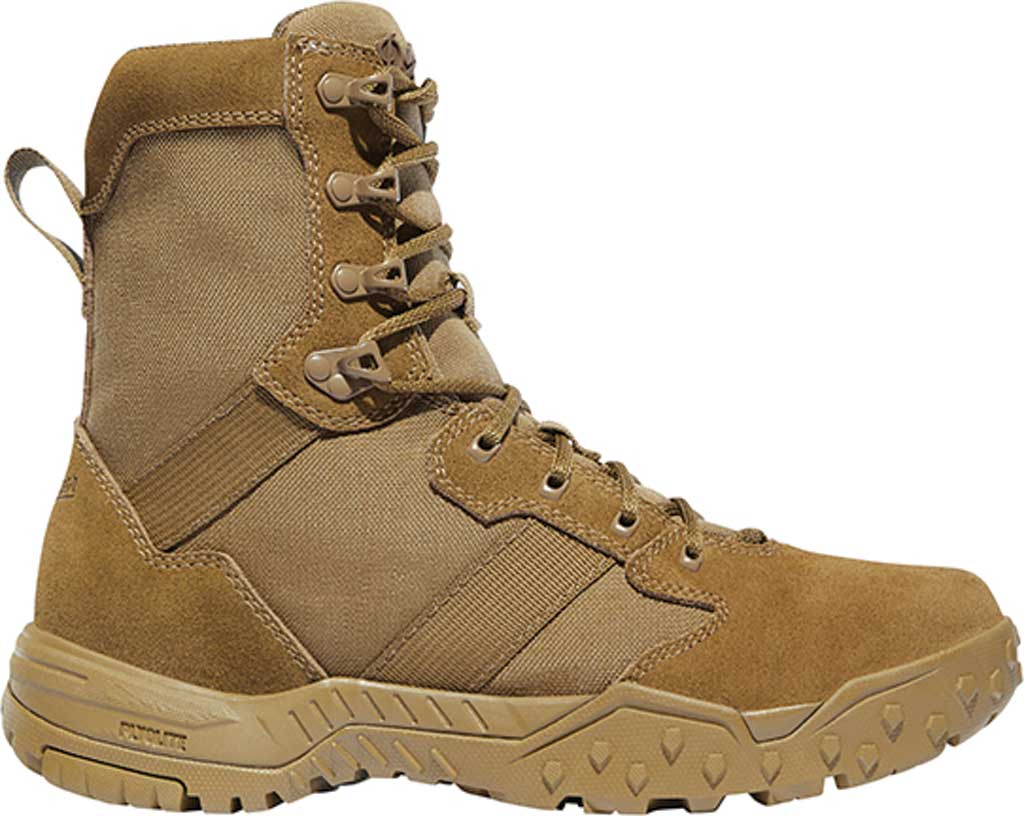 """Men's Danner Scorch 8"""" Military Boot, Coyote Leather/Textile, large, image 2"""