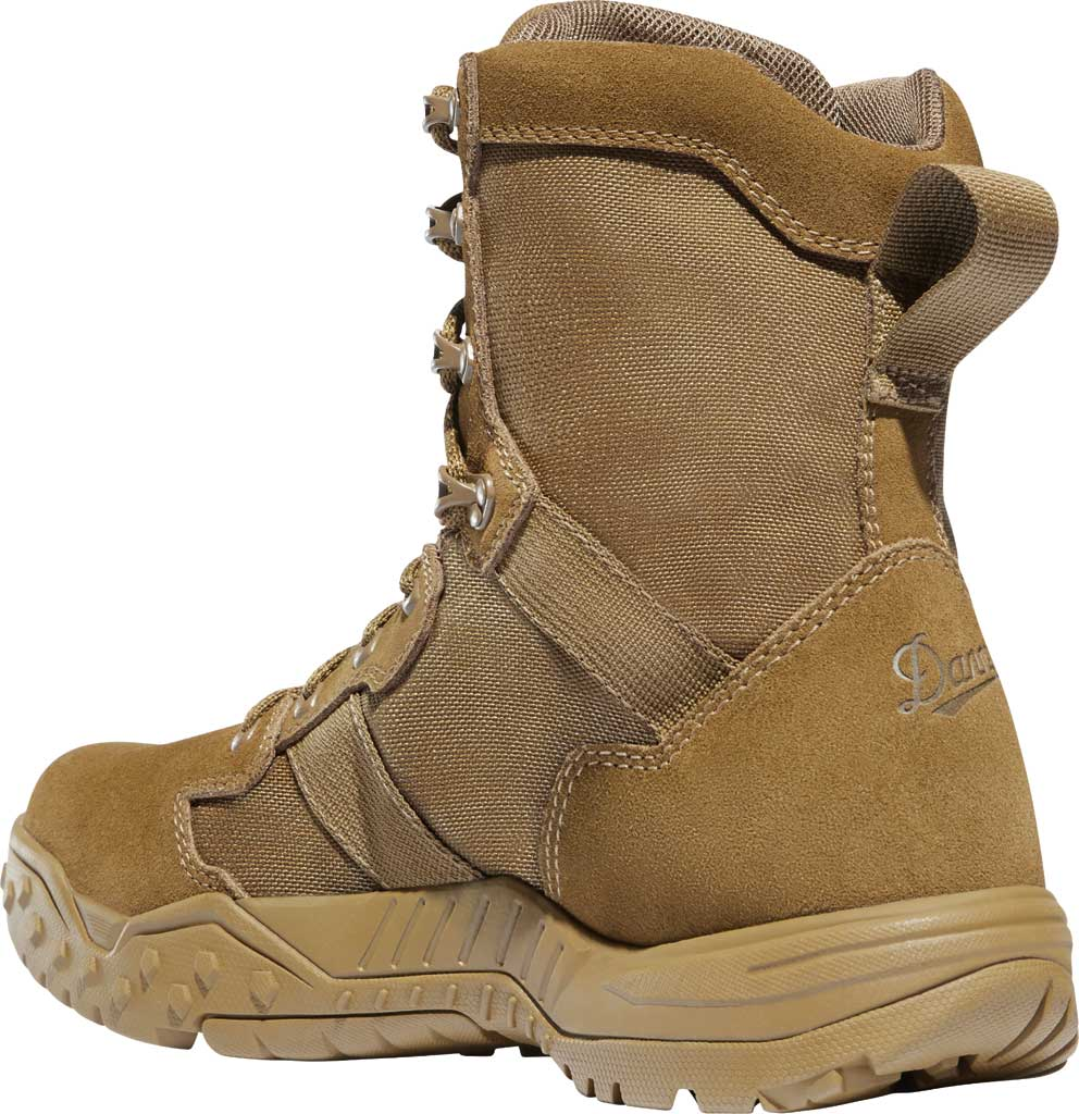 """Men's Danner Scorch 8"""" Military Boot, Coyote Leather/Textile, large, image 3"""