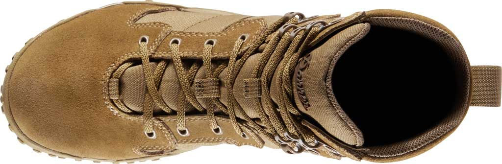 """Men's Danner Scorch 8"""" Military Boot, Coyote Leather/Textile, large, image 4"""