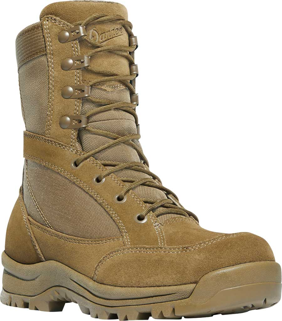 "Women's Danner Prowess 8"" Military Boot, Coyote Suede/Nylon, large, image 1"
