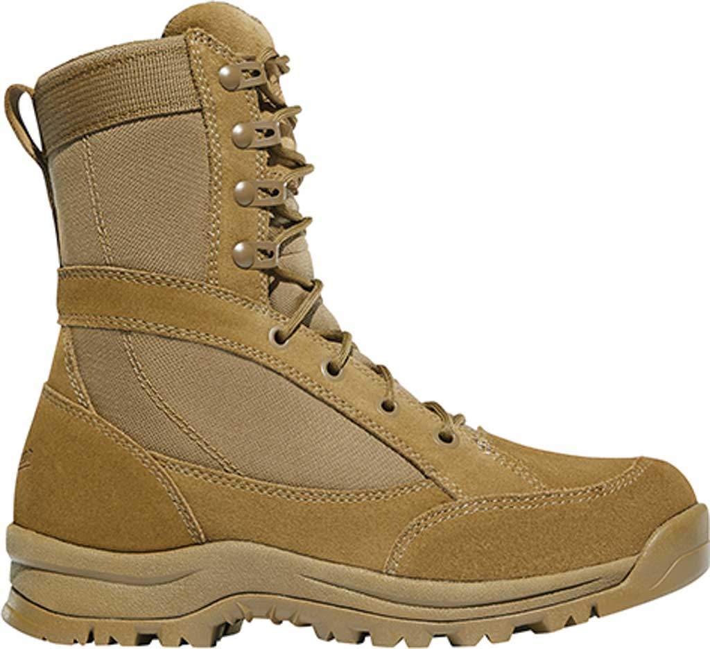 "Women's Danner Prowess 8"" Military Boot, Coyote Suede/Nylon, large, image 2"