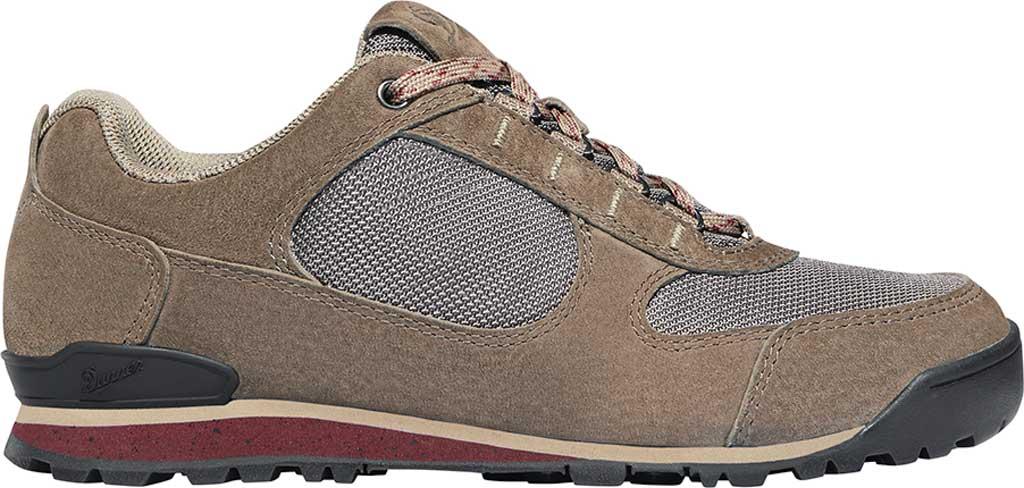Women's Danner Jag Low Hiking Shoe, Chocolate Chip Nubuck/Nylon, large, image 2