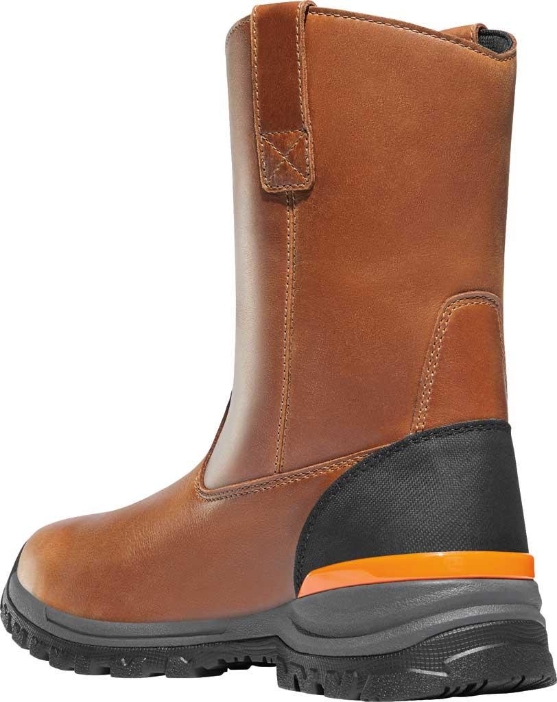 "Men's Danner Stronghold 10"" Non-Metallic Wellington Boot, Brown Full Grain Leather, large, image 3"