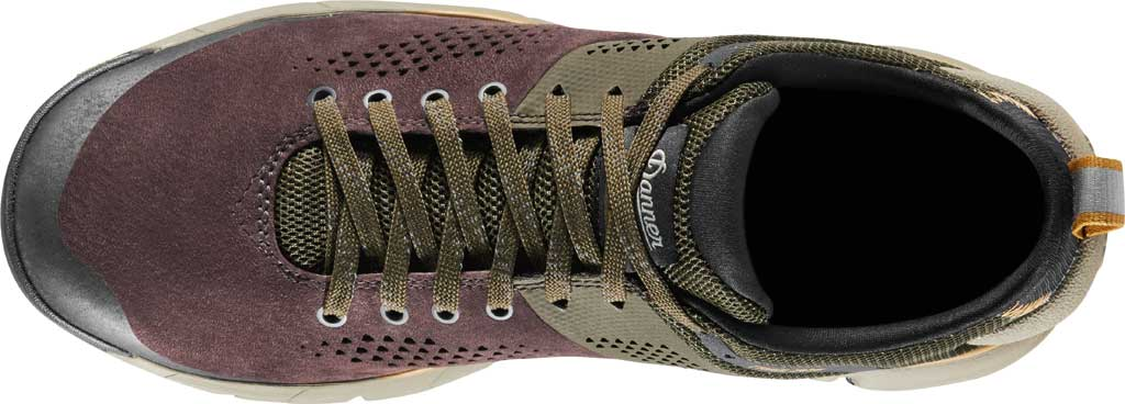 """Men's Danner Trail 2650 3"""" Hiking Boot, Dark Brown/Green Leather/Textile, large, image 4"""
