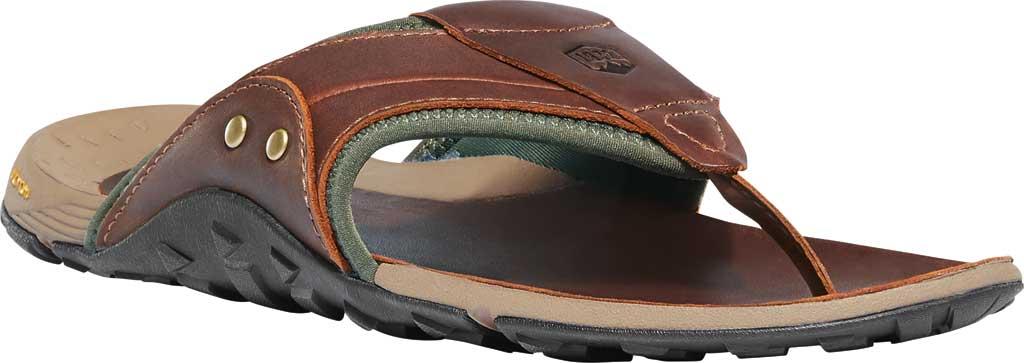 Men's Danner Lost Coast Thong Sandal, Barley Leather/Neoprene, large, image 1
