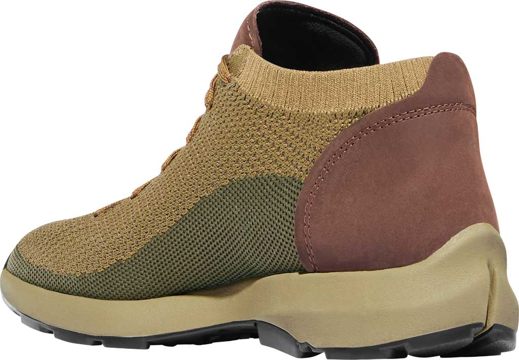 Men's Danner Caprine Low Hiking Shoe, Olive/Pinecone Nubuck/Textile, large, image 3