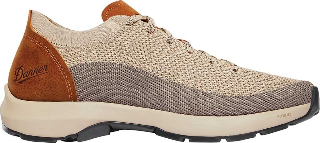 Men's Danner Caprine Low Hiking Shoe, Taupe/Glazed Ginger Nubuck/Textile, large, image 2