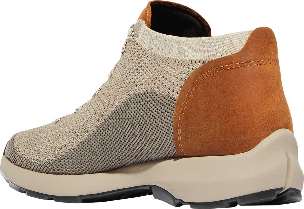 Men's Danner Caprine Low Hiking Shoe, Taupe/Glazed Ginger Nubuck/Textile, large, image 3